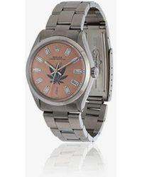 Jacquie Aiche - Vintage Rolex Leaf Diamond Watch - Lyst