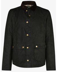 Barbour Reelin Coated Jacket - Black