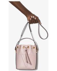 Valentino Garavani - Vlogo Small Leather Bucket Bag - Lyst