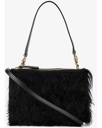 Atp Atelier - Lucca Faux Fur Shoulder Bag - Lyst