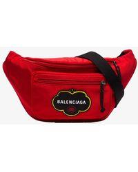 Balenciaga 'wheel' Belt Bag Red