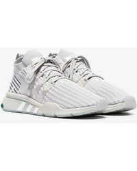 newest collection 8de93 374f8 adidas - Grey Eqt Bask Adv Sneakers - Lyst