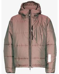 99% Is Iridescent Padded Jacket - Pink