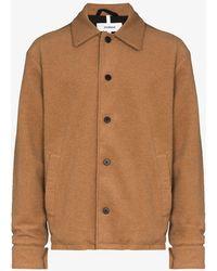 Soulland Aaron Shirt Jacket - Brown