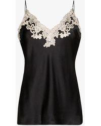 La Perla Maison Silk Lace Camisole - Black