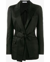 CASASOLA Single-breasted Blazer - Black