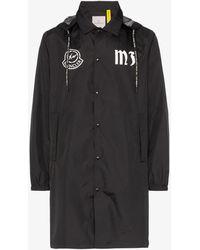 Moncler Genius - X Fragment Logo Hooded Jacket - Lyst
