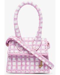 Jacquemus Le Petit Chiquito Leather Mini Bag - Pink
