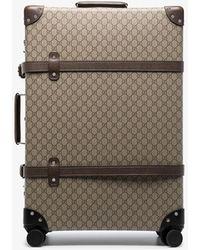 Gucci Globetrotter GG Supreme Suitcase - - Canvas - Brown
