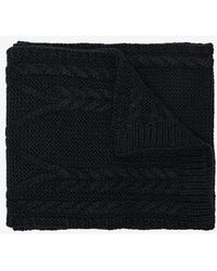 Moncler - Woven Wool Scarf - Lyst