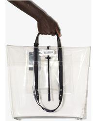 Maison Margiela Transparent Tote Bag - White