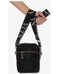 Valentino Black Garavani Rockstud Cross Body Bag