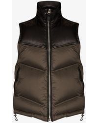 Tom Ford Parachute Padded Gilet - Green