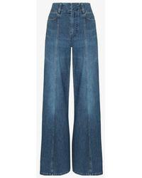 Chloé Wide Leg Jeans - Blue
