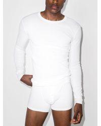 Schiesser Karl Heinz Sleepwear Set - White