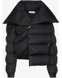 Marques'Almeida Safety-pin Deconstructed Puffer Jacket - Black