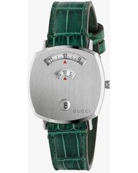 Gucci Grip Watch, 35mm - Green