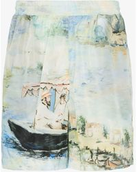 Off-White c/o Virgil Abloh Printed Shorts - Multicolor