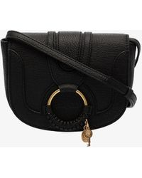 See By Chloé Black Hana Leather Cross Body Bag