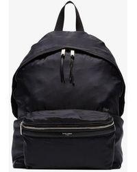 Saint Laurent - Black City Backpack - Lyst