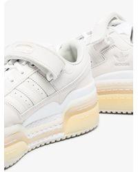 adidas Triple Platforum Leather Trainers - White