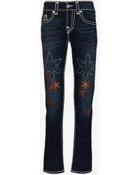 True Religion Rocco Super T Slim Jeans - Blue