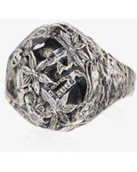 Lyly Erlandsson Salvage Ring - Metallic
