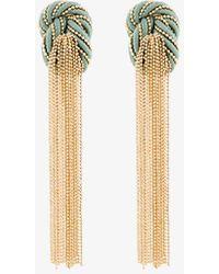Rosantica - Incontro Tassel Drop Earrings - Lyst
