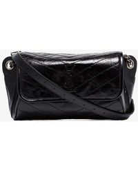 Saint Laurent Black Niki Medium Belt Bag
