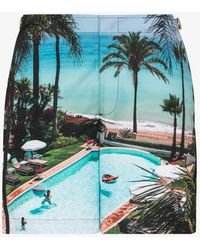 Orlebar Brown Bulldog Marbella Club Days Swim Shorts - Blue
