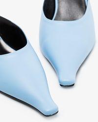 Kwaidan Editions 60 Leather Mules - Blue