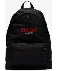 Balenciaga - Bal Explorer Sinners Backpack - Lyst