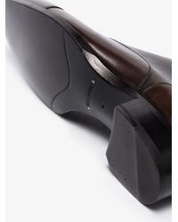 Tom Ford Elkan Leather Oxford Shoes - Brown