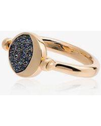 Pamela Love Reversible Moon Phase Ring - Metallic