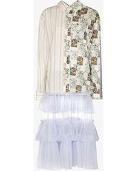 Viktor & Rolf - Quattro Camicie Midi Tulle Shirt Dress - Lyst