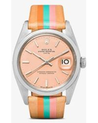 La Californienne Rolex Oyster Perpetual Date 34mm - Orange
