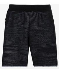 adidas X Missoni Black Saturday Knit Track Shorts