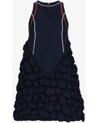 Angel Chen Sleeveless Bubble Dress - Blue