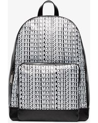 Balmain - Black Leather And Nylon Beast Backpack - Lyst