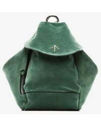 MANU Atelier - Green Fernweh Mini Suede Leather Backpack - Lyst