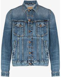 Nudie Jeans Tribe Bobby Denim Jacket - Blue