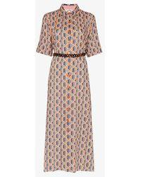 Evi Grintela Tangier Printed Maxi Shirt Dress - Multicolour