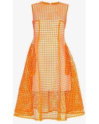 Paskal - Midi Squared Dress - Lyst