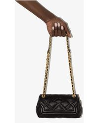 Tory Burch - Fleming Mini Quilted Leather Shoulder Bag - Lyst