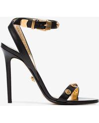 7c816ebf91b7 Lyst - Versace Tribute Medusa Ankle Strap Sandal (women) in Black