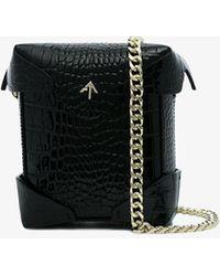 MANU Atelier - Patent Mini Pristine Bag - Lyst