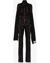 Rick Owens X Swampgod Ies Jumpsuit - Black