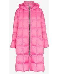 Ienki Ienki - Pyramid Hooded Feather Down Puffer Jacket - Lyst
