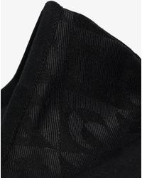 Marine Serre Moon Lozenge Face Mask - Black