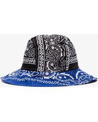 ARIZONA LOVE Multicoloured Bandana Bob Bucket Hat - Blue